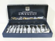 """GIVENCHY Forks/Spoons/IceCreamSpoon Set Of 15 5"""" Silverware Set"""