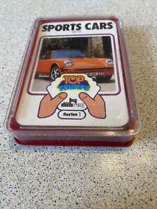 RARE VINTAGE 1970s SPORTS CARS TOP TRUMPS