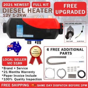 Diesel Heater 12V 2KW Split Adjustable RV Kyocera Glow Plug Motorhome Garage AU
