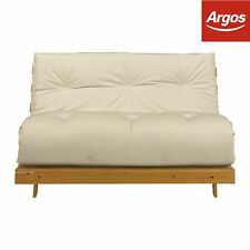 Argos Home Tosa 2 Seater Futon Sofa Bed Natural