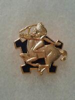 Authentic US Army 9th Cavalry Regiment DI DUI Crest Insignia V-21