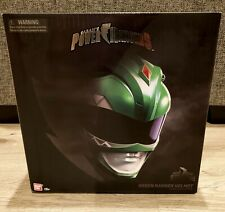 Bandai 2018 Power Rangers Legacy Collection Green Ranger 1:1 Helmet New- Sealed