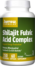 Jarrow Formulas Shilajit Fulvic Acid Complex 250 Mg, Supports Energy Production