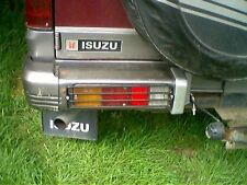 ISUZU TROOPER MK 1  REAR BUMPER LIGHT GUARDS