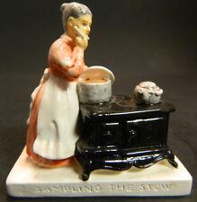 Vintage Sebastian Miniatures Sampling The Stew Sml-66A Excellent Condition