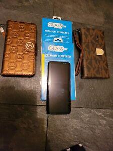 Samsung Galaxy S8 64GB 4G Midnight Black, fab condition (UNLOCKED) + ACCESSORIES