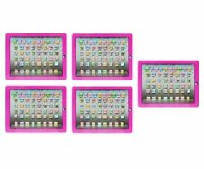 YPAD Multimedia Learning Computer Toy Tool for Kids Machine (Pink) Set of 5
