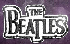THE BEATLES LOGO EMBROIDERED PATCH JOHN LENNON PAUL MCCARTNEY DIY