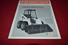 Bobcat M-610 Skid Steer Loader Dealers Brochure YABE11