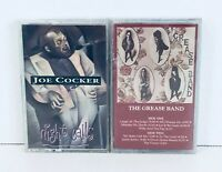 Joe Cocker Night Calls excellent The Grease Band Sealed cassette lot