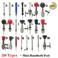 Alloy Archimedes Drill For Mini Bits Push To Twist Hand Precision Micro Hobby AU