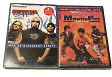 2 DVD DEAL Discovery American Chopper: Honoring The Uniform & Mantis Fist Boxer