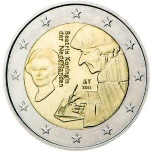 Netherlands, 2011, Erasmus 2 euro coin