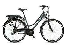 Zündapp E-Bike 28 Zoll Damen Elektrofahrrad 21-Gang Trekking Pedelec Green 20.7