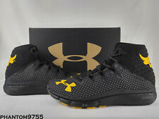 UA Under Armour Delta Highlight Project The Rock Training Shoe Black 3000251-100
