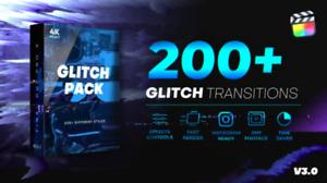 200+ Glitch Transitions for Final Cut Pro X