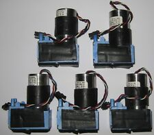 5 X Mini Diaphragm Single Head Air and Gas Hargraves Pump - 2.5 l/min - 12 V DC