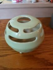 Vintage Light Green Ceramic Flower Frog