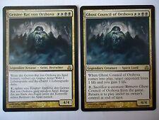 2x Ghost Council of Orzhova / Geister-Rat von Orzhova TOPRARE Mtg Magic