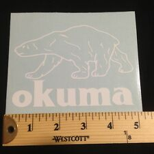 """Okuma Decal Window Sticker 3.5"""" x 5"""""""