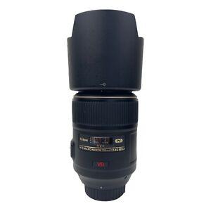Nikon AF-S Micro-Nikkor 105mm f/2.8 G ED Macro Lens + Hood HB-38 + TiFFEN Filter