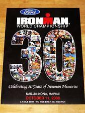 IRONMAN 2008 HAWAII POSTER ORIGINAL - TRIATHLON NEU / ORIGINAL VINTAGE in MINT
