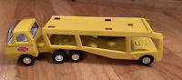 Vintage Tonka Car Carrier Pressed Steel Mini 1970's Yellow Hauler 2 Pieces Rare