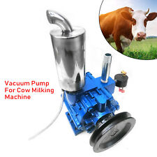 Protable Milker Vacuum Pump Milking Machine For Cows Withbucket Milker 220lmin