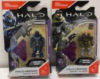 Mega Construx Halo Heroes Espartanos Grant y Espartanos Jun A266 FMM69