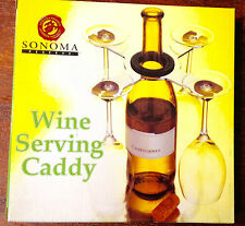 Sonoma Reserve Wine Serving Caddy