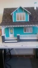 Finished Dollhouse Real Good Toys Beachside Bungalo model, just completed