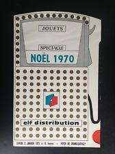 Ancien Programme Noel 1970 Jouet Elf Grand Quevilly