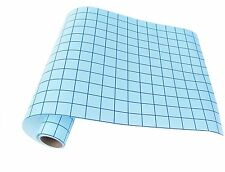 12 in x 10 ft clear transfer tape with blue alignment grid for vinyl   CAMEO