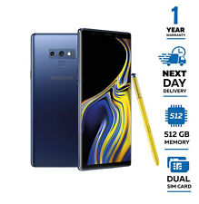 New Samsung Galaxy Note 9 512GB N960FD Dual Sim Unlocked - Ocean Blue