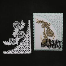 Lace Border Metal Cutting Dies Scrapbooking Embossing Craft Home Wedding Xmas