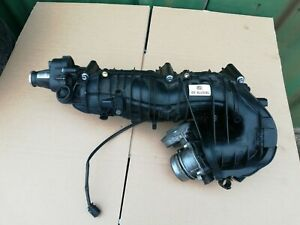 2007-2011 Bmw 1 3 5 Series 2.0D N47 Air Intake Manifold with Swirl Flap 7810178
