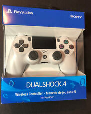 Official Sony DualShock 4 Wireless Controller [ Glacier White Edition ] NEW