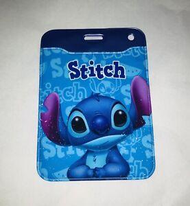 DISNEY STITCH Plastic ID CARD BADGE PASS HOLDER