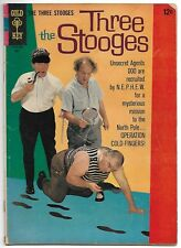 The Three Stooges #28 (Gold Key, 1966) – Little Monsters – N.E.P.H.E.W. – VG+