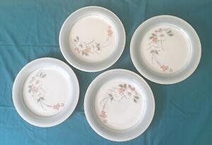 4 Impressions by Daniele Stoneware Dinner Plates Riverside Like New