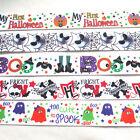 "5YARDS 7/8"" Grosgrain Ribbon Halloween Decor Craft Mix"
