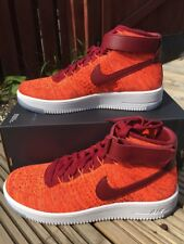 NIKE AIR FORCE 1 FLYKNIT WMNS SIZE UK 8,5 EUR 43 [818018-800] 100% AUTHENTIC