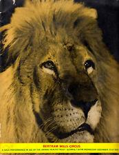 Zirkus BERTRAM MILLS CIRCUS Olympia / Löwe Lion * Programm 1965 Booklet