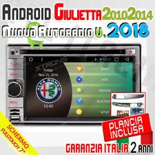 AUTORADIO Android 6.0 QuadCore WIFI ALFA GIULIETTA 2010-2014 BLUETOOTH/DAB/DVD -