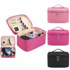 Women Travel Cosmetic Case Toiletry Makeup Handbag Organizer Storage Pouch Bag