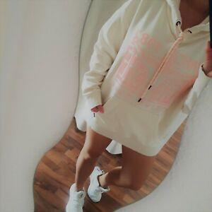 Chiemsee Kapuzen Sweatshirt Hoodie Pullover S 36 38 M L 40 als Oversize tragbar
