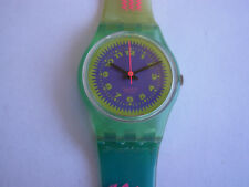 SWATCH DUMMY PINK MERMAID VARIANT - LN109P1 – 1990 - RARE - not working