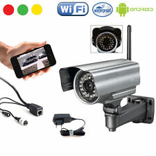 TELECAMERA IP CAMERA WATERPROOF ESTERNO WIFI P2P WIRELESS INFRAROSSI 24 LED VISI