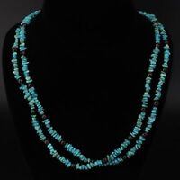 """JAY KING DTR 6mm Turquoise & Garnet Beaded 44"""" Extra Long Necklace - 39.5g"""