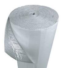 """IES 16"""" x 200' White Double Bubble Reflective Foil Insulation Thermal Barrier R8"""